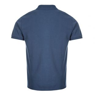 Polo Shirt Fox Patch - Petrol Blue