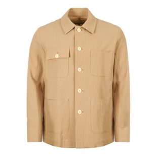 Maison Kitsune Jacket CM02104W W0002 BE In Beige