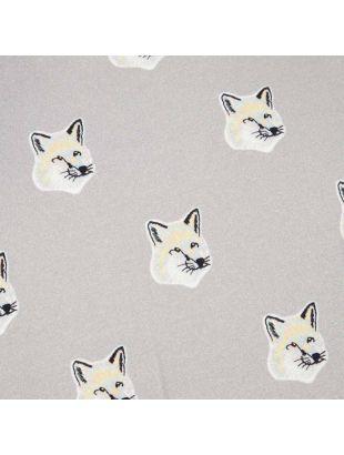 T-Shirt Fox Head - Grey