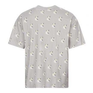 T-Shirt Fox Head - Grey