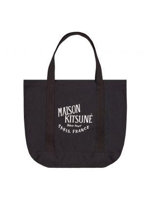 Maison Kitsune Palais Royal Bag, GU05125W W0008 BK Black, Aphrodite 1994