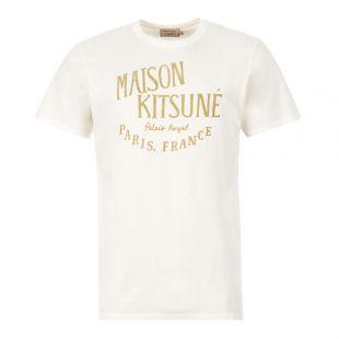 Maison Kitsune Palais T-Shirt | DM00123K|J0008 Off White | Aphrodite Clothing