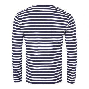 Long Sleeve T-Shirt - Navy Stripe