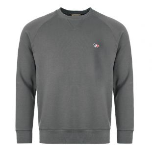 Maison Kitsune Sweatshirt Fox Patch DM00313K M00002 AN Grey