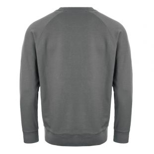 Sweatshirt Fox Patch - Grey