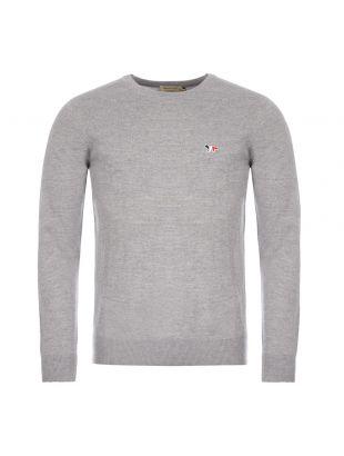 Maison Kitsune Sweatshirt , FU00502KT 1036 Grey , Aphrodite 1994