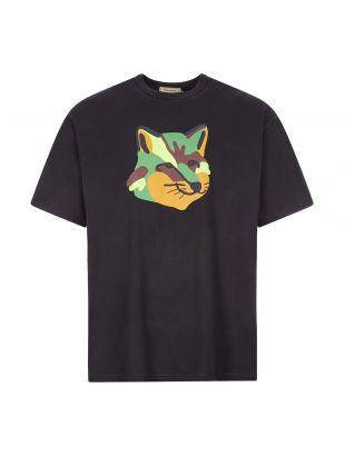 Maison Kitsune T-Shirt , FU00158KJ0010 BLK Black , Aphrodite 1994