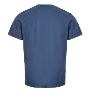T-Shirt Fox Patch – Petrol Blue