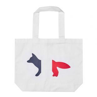Maison Kitsune Tote Bag | AU05101W W0007 WH White