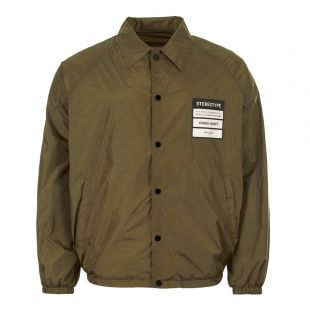 maison margiela coach jacket S50AM0358 S49203 727 olive