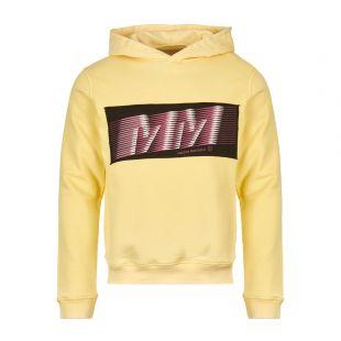 Maison Margiela Hoodie | S50GU0081 S25405 169 Yellow |