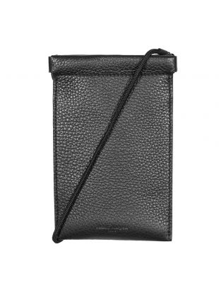 Maison Margiela iPhone pouch , S55UI0207P0399H4200 Black , Aphrodite 1994
