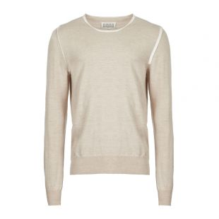 Maison Margiela Knitted Sweater | S50HA0876 S16768 106F Beige
