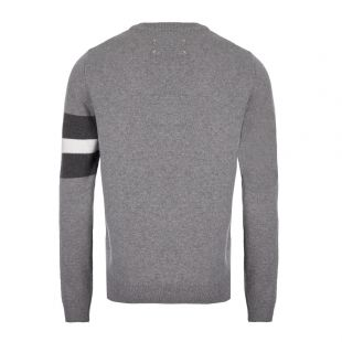 Knitted Sweater - Grey