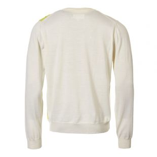 Jumper - White/Lime