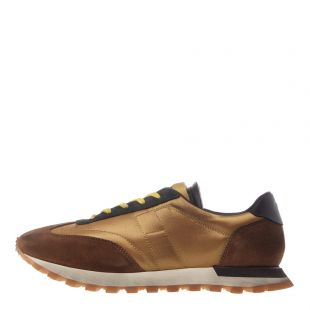 Maison Margiela Trainers Runner Low S57WS0255 P2706 H7293 Gold / Brown