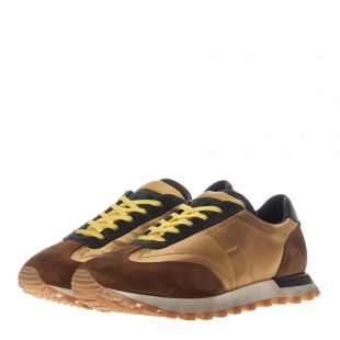 Trainers Runner Low - Gold / Brown