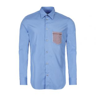 Maison Margiela Shirt | S50DL0400 S43001 482 Cornflower Blue