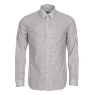 Maison Margiela Shirt S30DL0374-S47991-002F Micro Print White