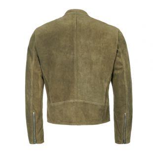 Suede Jacket - Green