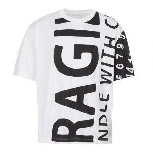 Maison Margiela T-Shirt S50GC0562 S22816 100 White / Black