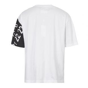 T-Shirt - White / Black