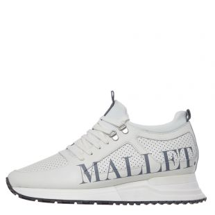 Mallet Footwear Diver 2.0 Trainers | TE2018WTXT White