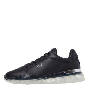 mallet kingsland clear trainers TR1051 BLK black