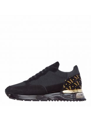 Popham Trainers - Gas Gold / Black