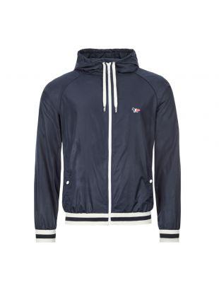 Jacket Hooded Windbreaker - Navy