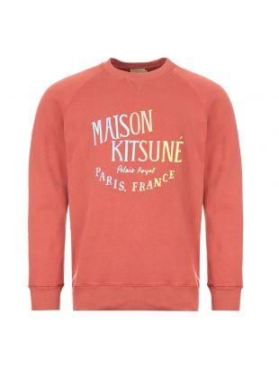 maison kitsune sweatshirt EM00348K M0002 DPI pink