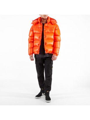 Jacket Tarnos with Detachable Sleeves - Orange