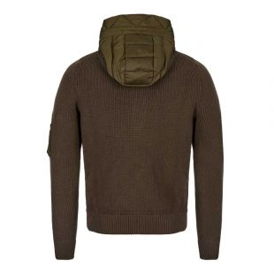 Knitted Cardigan - Olive