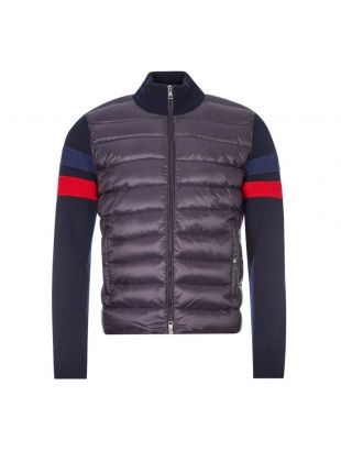 Moncler Knitted Jacket 9B515 00 A9421 778 Navy