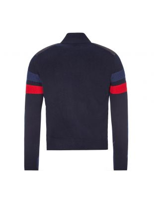 Knitted Jacket - Navy