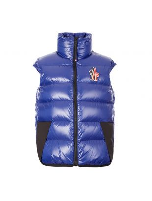 Moncler Grenoble Egginer Gilet | 43307 80 539MW 732 Royal Blue