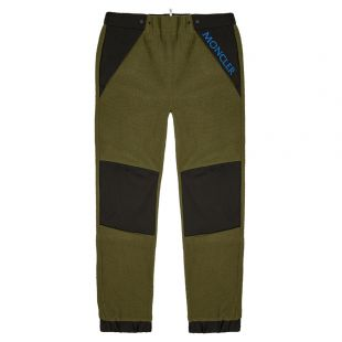 Moncler Fleece Trousers 87003|00|C8013|241 In Green And Black At Aphrodite1994