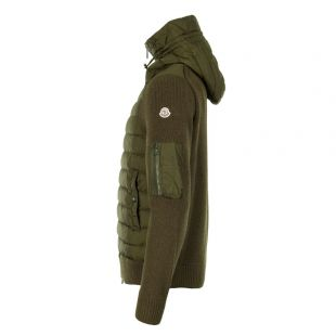 Hooded Cardigan - Olive