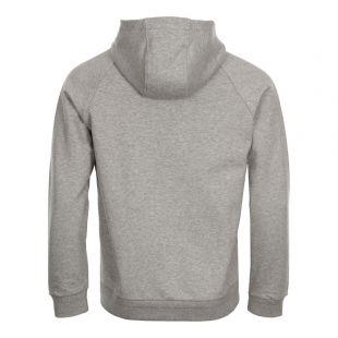 Hoodie 3D Logo  - Grey