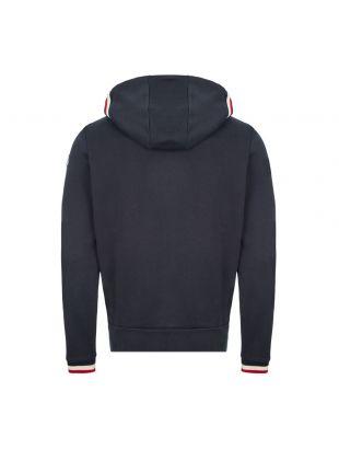 Zipped Hoodie - Navy