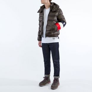 Jacket Willm – Brown / Navy / Red / White