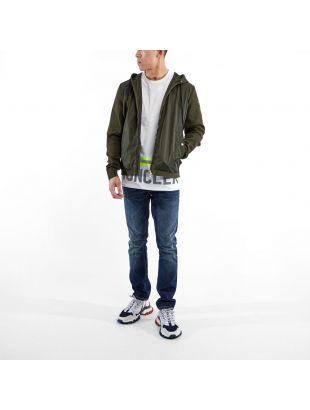 Zipped Cardigan - Green