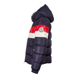 Jacket Janvry - Navy / Red / Cream