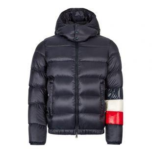 Moncler Jacket Willm | 41355 85 C0104 742 Navy / Red / White
