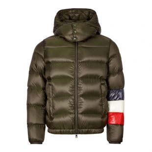 Moncler Jacket Willm | 41355 85 C0104 826 Brown / Navy / Red / White