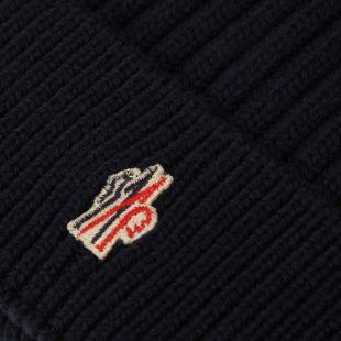 Beanie Logo - Navy