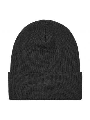 Beanie Knitted - Black