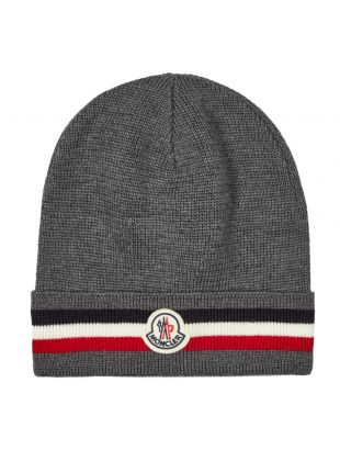 Beanie Knitted - Grey