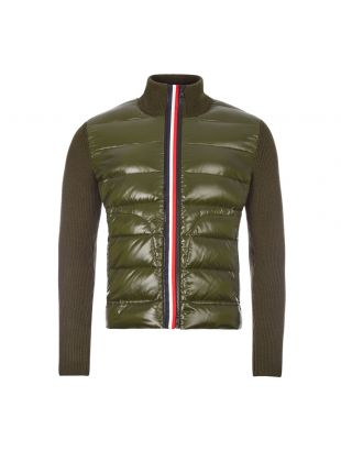 Knitted Jacket - Olive