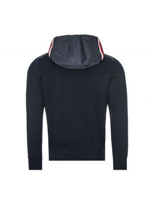 Zipped Cardigan - Navy